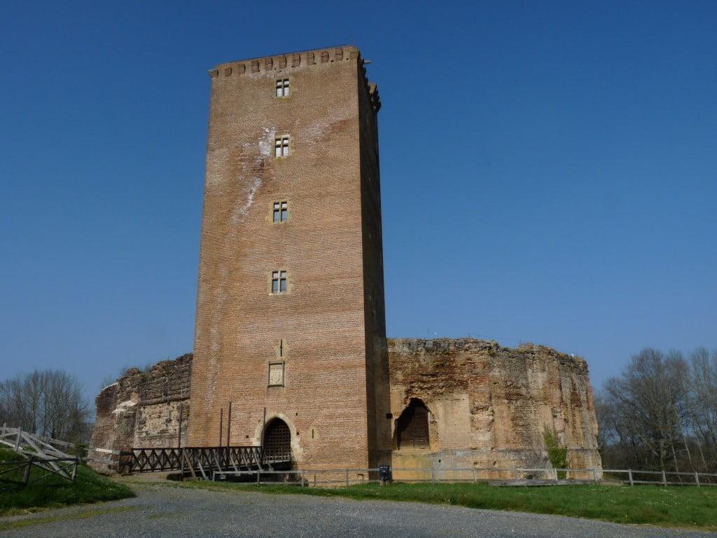 Château médieval de Montaner