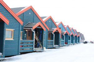 maison Arctique ski Svalbard à la maison zone résidentielle Svalbard et jan mayen Longtemps