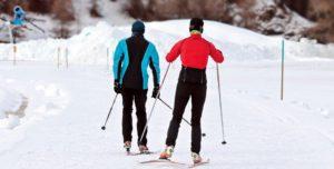 Cross Country Ski, Ski De Fond, Hiver, La Neige, Sport